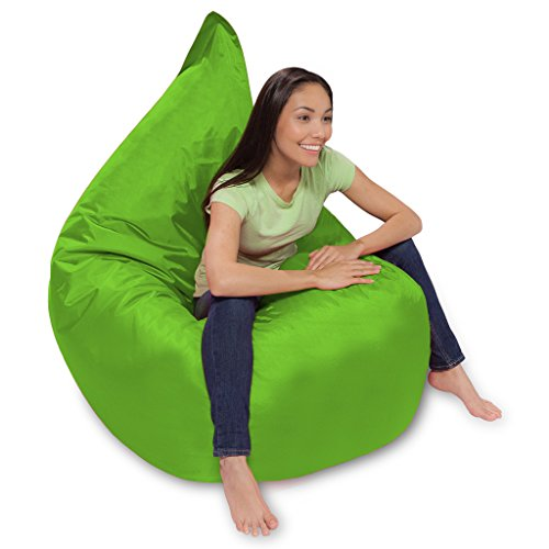 41j9MmZvMwL - Huge Bean Bag Pillow for Playing Video Games & Watching TV