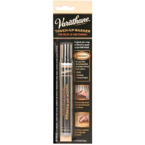 Maple Stain Colonial (Varathane 215354 Wood Stain Touch-Up Marker For Chestnut, Colonial Maple)