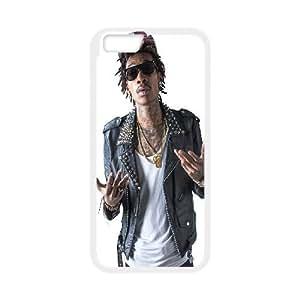 """DIY iPhone6 Plus 5.5"""" Case, Zyoux Custom New Design iPhone6 Plus 5.5"""" Plastic Case - Wiz Khalifa"""
