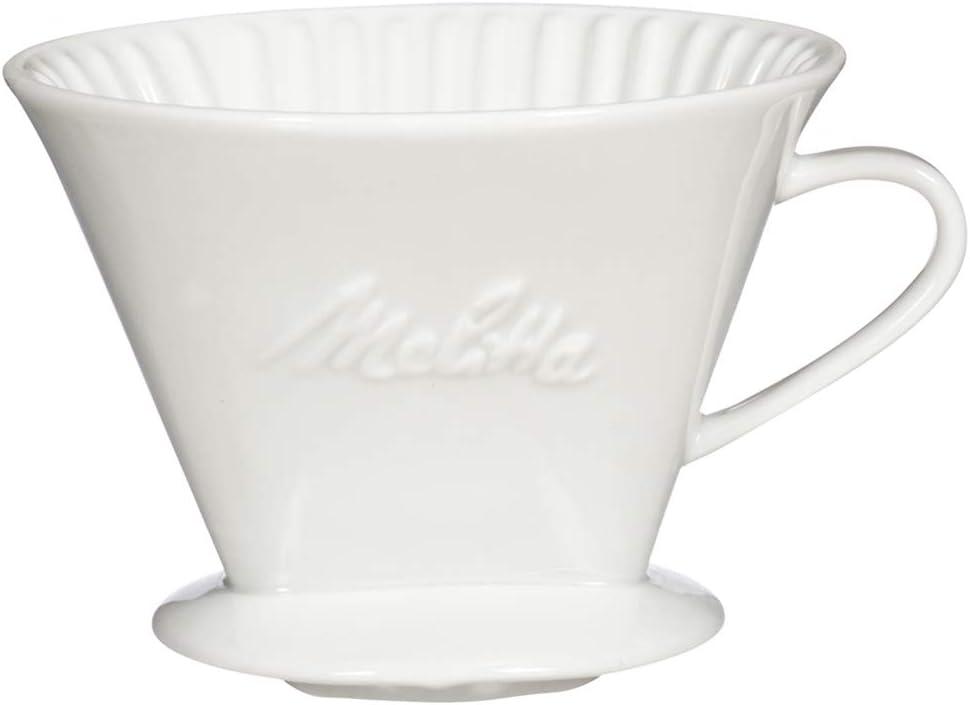 Melitta (64102C) #4 - Cafetera de porcelana (4 unidades): Amazon ...
