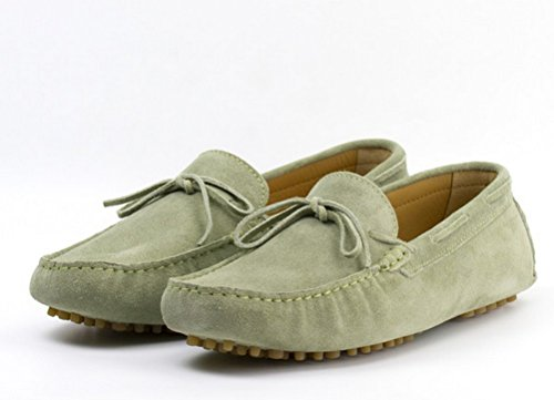 fa3107121e4 50%OFF Laced Suede Driving Loafers - snipe.no
