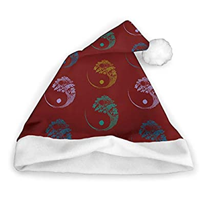 Party Celebration Yin Yang Bonsai Tree Xmas Hat: Clothing