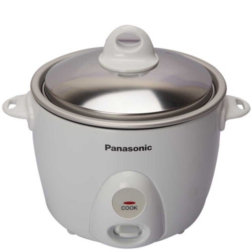 Panasonic SR-G06 3-Cup (Uncooked) Rice Cooker, 220-volt