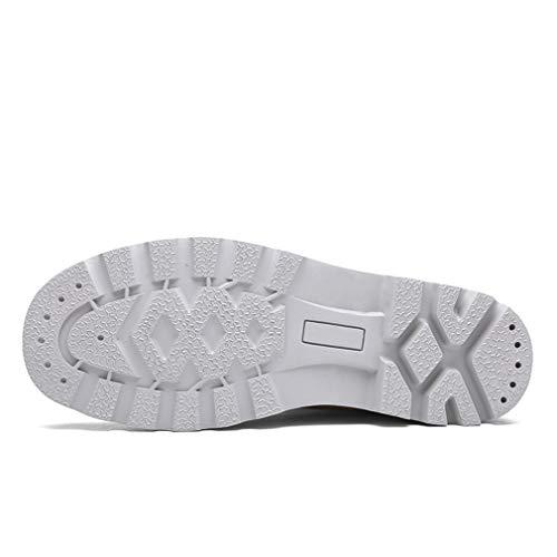 EIN Exing Sneaker Schuhe Casual Rutsch Schuhe Liebhaber High Top D Martin 43 Größe Leinwand Farbe Vintage Anti Stiefel Womens Schuhe Tooling RqwIrfR