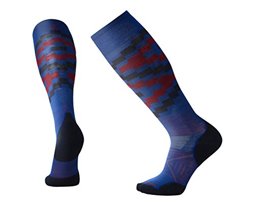 Smartwool PhD Ski Light Elite Pattern Dark Blue -