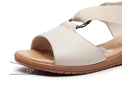 pengweiSummer flat sandals soft bottom with non-slip shoes 3 aH7wfgH
