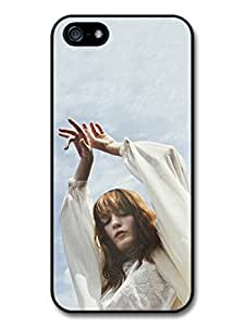 Florence + the Machine Ethereal with White Dress and Blue Sky case for iPhone 5 5S