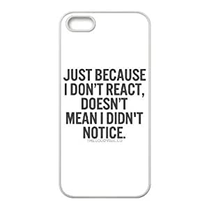 Be Inspired iPhone 5,5S Case White Yearinspace973151
