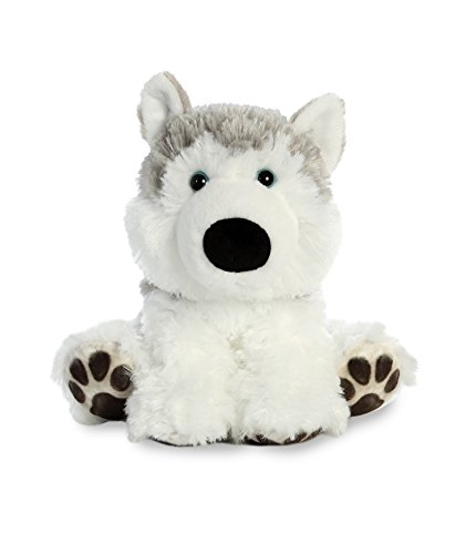 Aurora World Big Paws Plush Toy Animal, Hydrant Husky
