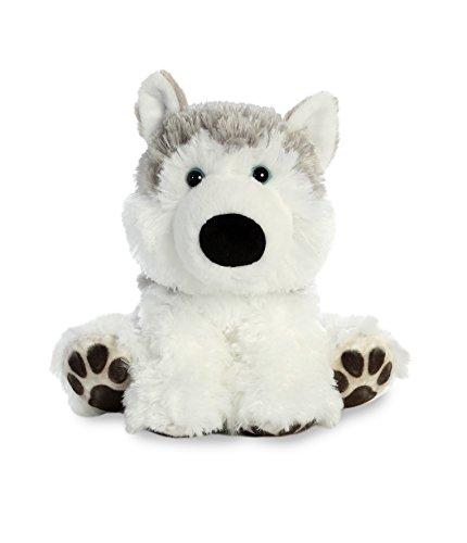 (Aurora World Big Paws Plush Toy Animal, Hydrant Husky)