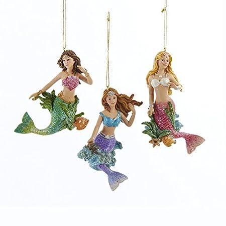 41j9PwbbdGL._SS450_ Mermaid Christmas Ornaments