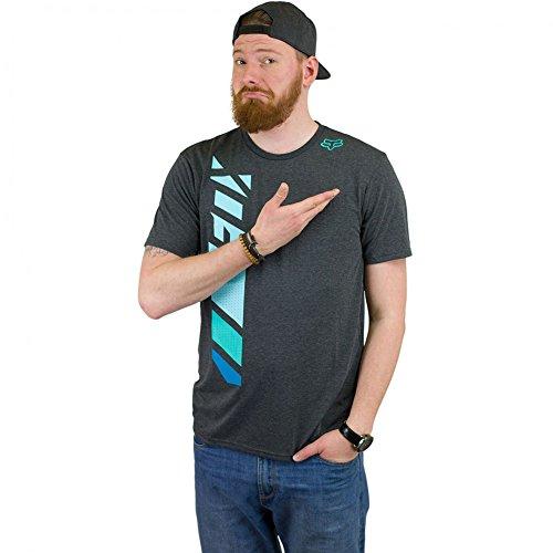 Fox T-Shirt Side Seca schwarz meliert M