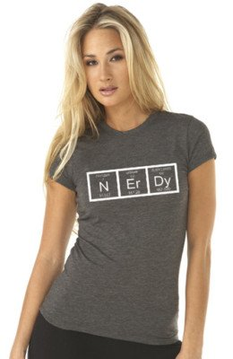 Nerdy Periodic Table Science T-Shirt