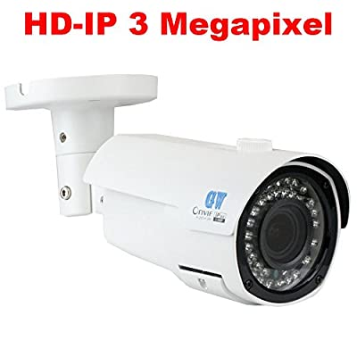New Arrivals 16CH H.265 NVR 3-Megapixel (2048 x 1536) Network Video Security System - 16 x 3MP 1536p @ 30fps Realtime 2.8-12mm Varifocal Zoom POE Weatherproof Bullet IP Cameras, 130ft Night Vision