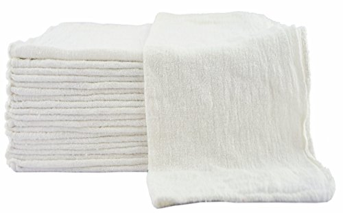 Cotton Shop Towels - 13 in. x 13 in.
