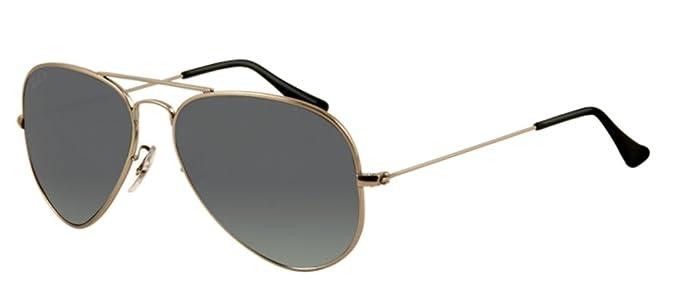 19a4f94e03 Ray Ban RB3025 Aviator Sunglasses (Titanium Frame Polarized Silver Lens