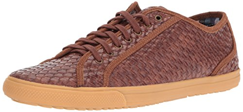 Ben Sherman Mens Chandler Lo Mode Sneaker Brun O1b