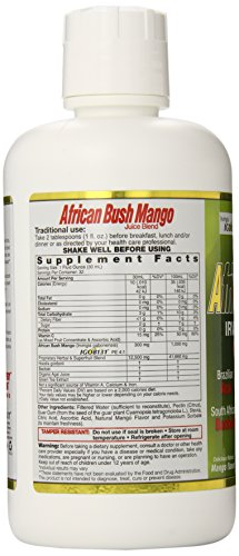 Dynamic Health African Bush Mango Juice Blend, 32 Oz. (Pack of 6) by Dynamic Health (Image #4)