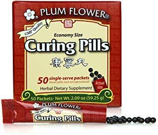 De Los Plum - Curing Pills (Stick Pak) - Kang Ning Wan - Economy - Plum Flower by Mayway (Pack of 50)