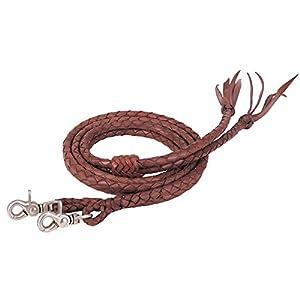 Weaver Leather Round Braided Latigo Split Reins