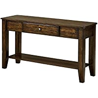 Intercon KA-TA-4918S-RAI-C Kona Sofa Table, 49 x 18 x 30, Rasin