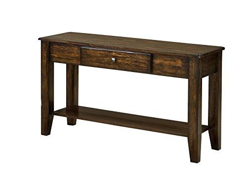 Intercon KA-TA-4918S-RAI-C Kona Sofa Table, 49 x 18 x 30, Rasin (Kona Furniture Collection)