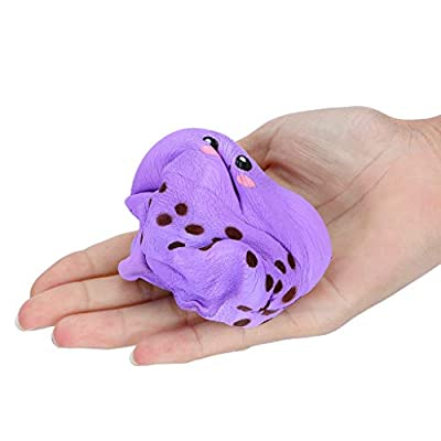 Xuways Squishy Toys Party Favors for Kids, Milk Tea Cup Kawaii Sweet Scented Squishies Slow Rising Kids Toys , Simulation Animal Toy for Autism, ADHD and Quitting Bad Habits: Toys & Games