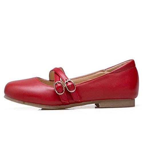 Dulce Zanpa 2 Zapatos Mujer Plano red zgAwg