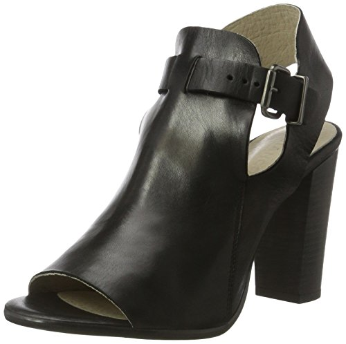 BIANCO Open Dress Shoe Djf16, Sandali Donna Nero (Nero)
