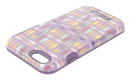 goodis 5605269Glossy Extra Protective Hard Etui pour Apple iPhone 6/6S Feather