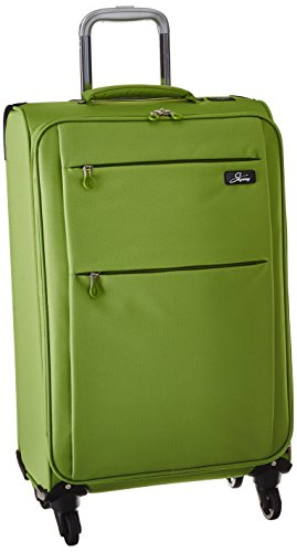 Skyway FL-Air-Air 20-Inch 4 Wheel Expandable Carry-On, Lime Green, One Size