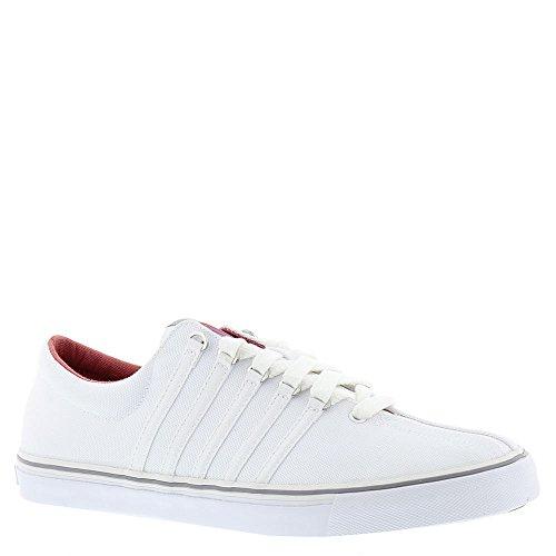 K-Swiss Men's Surf 'n Turf OG Fashion Sneaker, White/Stingray/Spiced Coral, 10.5 M US