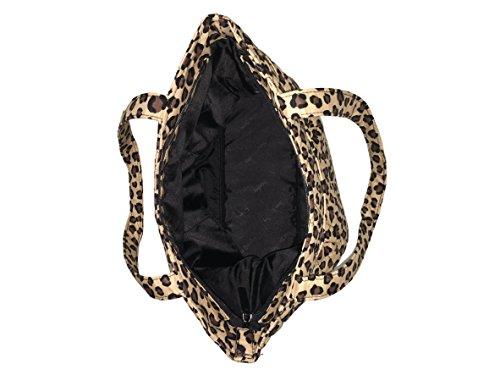 Pleated Tote Leopard Top Bradley Bag Zip Vera 504q1