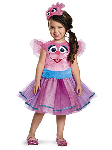 Abby Tutu Deluxe Costume, Medium (3T-4T) -