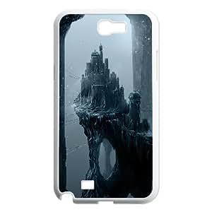 Concept City Fairy Village Unique Design Hard Pattern Phone Case For Samsung Galaxy Case Note 2 HSL470905