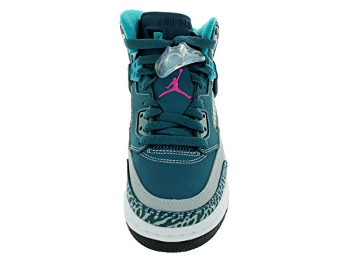 Shoes Grey Pink 407 Fusion Blue Basketball Space Unisex Kids Jordan Wolf NIKE Black Spizike APFwqXxT