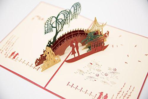 Gift Ideas For Mc At Weddings: MC PRO Beautiful Handmade 3D Pop Up Greeting Card Gift