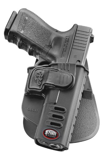 Fobus GLCHLH Standard LEFT HAND Concealed Carry Polymer Paddle Holster For Glock 17 19 22 23 31 32 34 35 Level 2