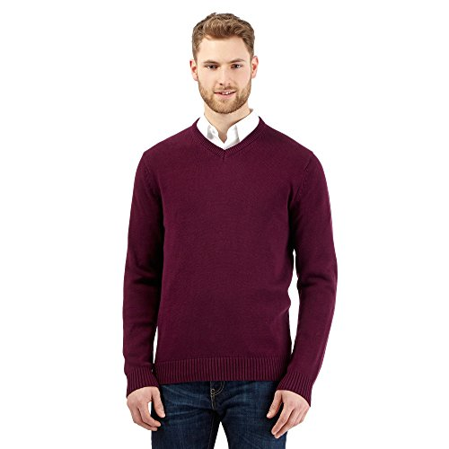 Maine New England Herren Pullover violett violett One size