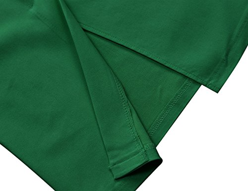 MUXXN Womens Halloween Day's Sexy Pin Up 1940s Halter Special Occasion Dresses (Green L)
