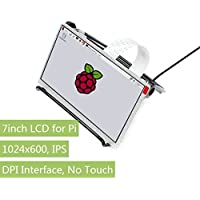 Waveshare 7inch IPS Display for Raspberry Pi, DPI interface, no Touch, 1024x600