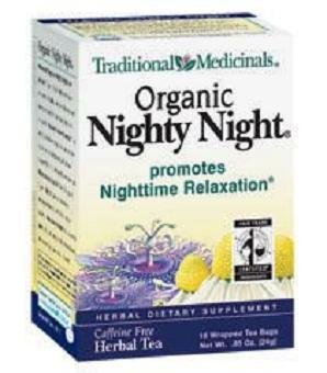 - Traditional Medicinal's Nighty Night Herb Tea (3x16 Bag)