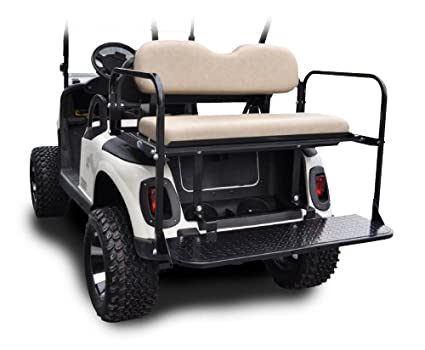 Amazon.com : Madjax 01-010 Genesis 150 Rear Flip Seat Kit for 2008 on ez go logo drawing, ez go seat covers, ez go rear seats, ez golf cart colors, ez go txt, ez go winter cover, ez go marathon, ez go custom carts, ez go models by year, ez go cart accessories, ez go lift kit, ez go seat back design, go cart replacement seats, used ez go back seats, ez go rxv 2010, ez golf cart seat covers,