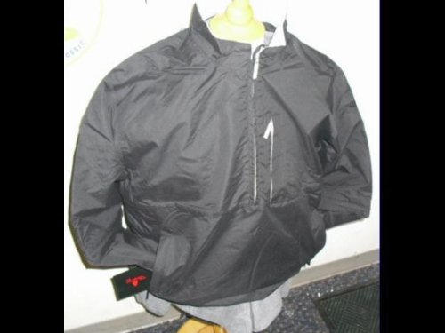 Golf Rain Microfiber Jacket Black XL Weather Company - Weather Microfiber Jacket