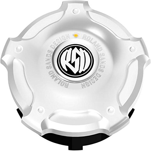 RSD Replacement Fuel Gauge Cap With LED Fuel Light - Misano - Chrome 0210-2031-CH