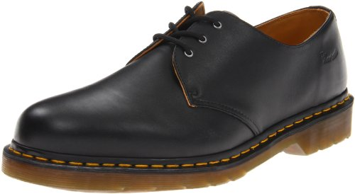 Dr. Martens Men's 1461 3 Eye Shoe,Black Nappa,6 UK/7 M US