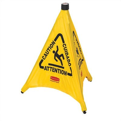 Cone Safety Caution Pop-Up