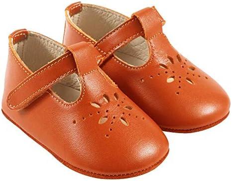 Tichoups Chaussures Cuir Bébé Chaussures premiers pas Enfant Salomé camel À scratch Bébé Chaussure Premiers Pas Fille, Garçon Pointure