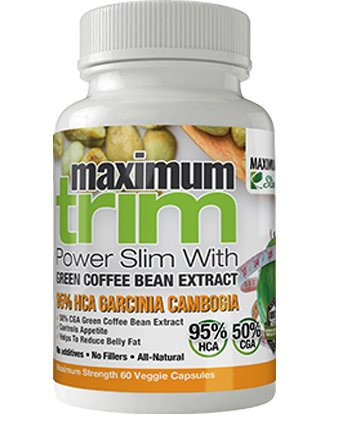 MOST EFFECTIVE FORMULATION MAXIMUMTRIM GARCINIA CAMBOGIA With GREEN COFFEE BEAN EXTRACT All Natural WEIGHT LOSS, APPETITE SUPPRESSANT & FAT BURNER.- MONTH SUPPLY For Sale