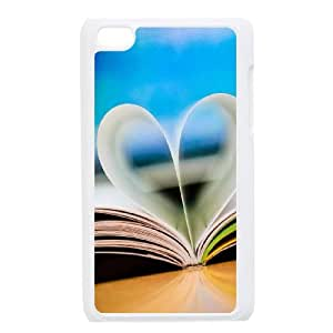 Customized Cover Case with Book for Ipod Touch 4 at Hushell